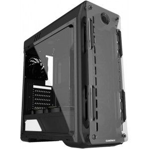 gabinete gamer gamemax optical g510 mid tower com 3 fans painel lateral black s fonte 87609
