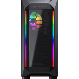 gabinete gamer cougar mx410 t mid tower s fan vidro temperado s fonte 97820 1