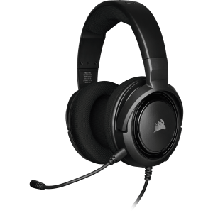 headset gamer corsair hs35 stereo carbon ca 9011195 na 85642