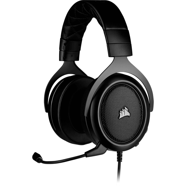 headset gamer corsair hs50 pro stereo carbon ca 9011215 na 96164