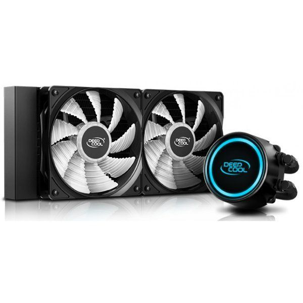 water cooler deepcool gammaxx l240 v2 rgb 240mm intel amd dp h12rf gl240v2 85019