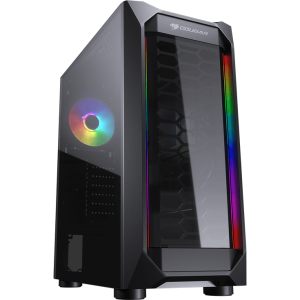 11083571167 gabinete gamer cougar mx410 t mid tower s fan vidro temperado s fonte 97821 1